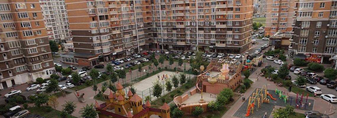 Фестивальный микрорайон Краснодара фото