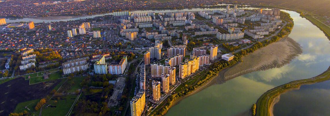 Юбилейный микрорайон Краснодара фото